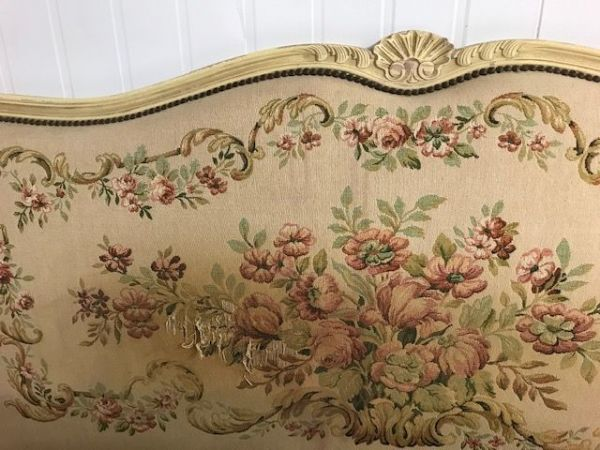 Vintage French King Size Bed - 160cm - g138